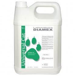 Diamex Shampooing Universal Cat 5l. Shampooing pour chat. A base d'huile d'amandes douces.