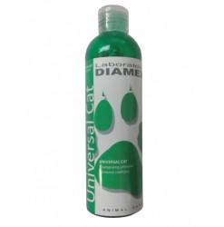 Diamex Shampooing Universal Cat 250 Ml. Shampooing pour chat. A l'huile d'amandes douces. Volume, Brillance et douceur.