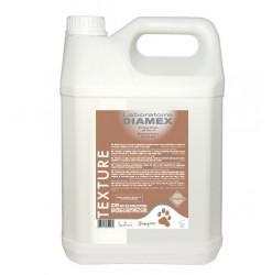 Diamex Shampooing Texture Vison 5l. Shampooing pour chien. Pour les chiens à poil long.