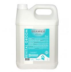 Diamex Shampooing Revital Groom 5l. Shampooing pour chien. Pour les poils abîmés.