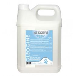 Diamex Apres Shampooing Oleogine 5l. APrès Shampooing pour chien. à l'huile de coco bio.