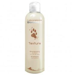 Diamex Shampooing Texture Vison 250 Ml. Shampooing pour chien à poils longs. Haute concentration d'huile de vison.