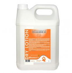 Diamex Lotion Dry 5l. Shampooing pour chien sans rinçage.