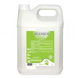 Diamex Shampooing Apple 5l. Shampooing pour chien. Aux extraits naturels de pommes. Ravive la couleur du pelage.