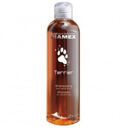 Diamex Shampooing Terrier 250 Ml. Shampooing pour chien. Spécial terriers. Pour poil dur.