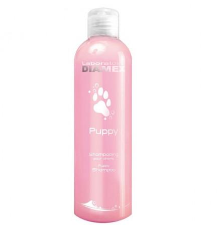 Diamex Shampooing Puppy 250 ml. Shampooing pour chiots et jeunes chien. PH Equilibré. Shampooing très doux