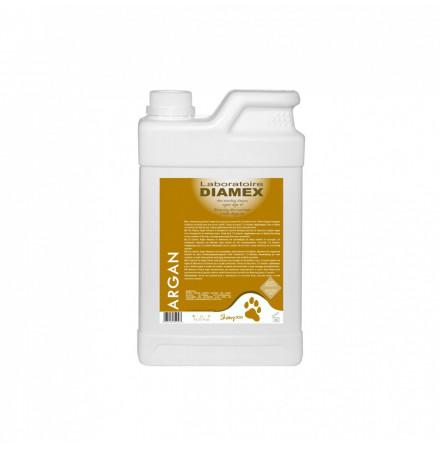Diamex Shampooing Argan 1l. Shampooing pour chien. Pouvoir nutritif. A l'huile d'argan bio du Maroc.