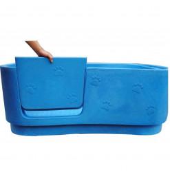 Dg Bain Fixe Polyéthylène Bleu