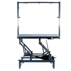 King Size Table Electrique 123x68 Roulettes Potence Double