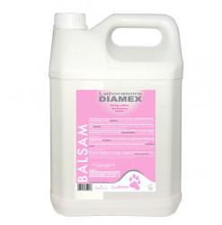 Diamex Apres Shampooing Balsam 5l. Après shampooing pour chien. Rend le poil doux et soyeux