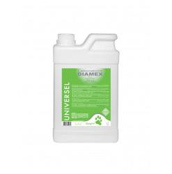 Diamex Shampooing Universel Chèvrefeuille 1l. Shampooing pour chien à poil court. Au parfum naturel de plantes.
