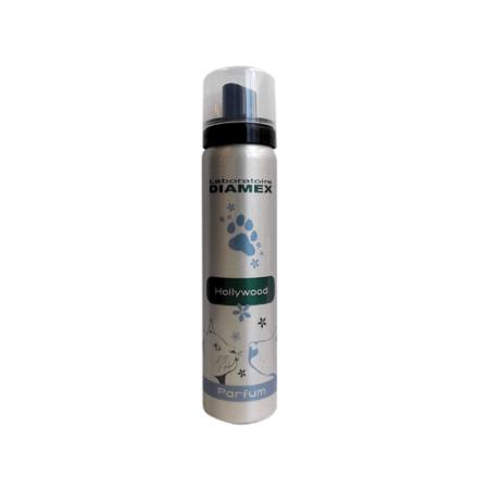 Diamex Parfum Hollywood 100ml. Parfum pour chien. Senteur fruité et épicé