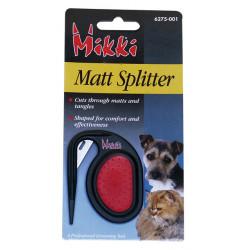 Matt Splitter Mikki. Aide à l'élimination du nœuds.