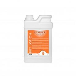 Diamex Lotion Dry 1l. Shampooing sans rinçage pour chien. Idéal pour les chiens de chasse ou vivant en extérieur.