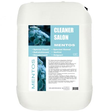 Diamex Cleaner salon Mentos 25 litres produit nettoyant à l'odeur mentholée. Rafraichit et désodorise