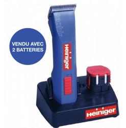 Heiniger Tondeuse Saphir Sans Fil Bleue
