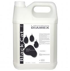 Diamex Shampooing Black Cat 5l. Shampooing pour chat au pelage noir. Ravive la couleur.