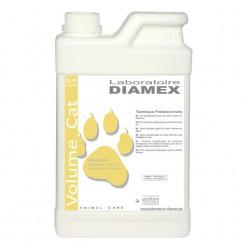 Diamex Shampooing Volum Cat 1l. Shampooing pour chat. Volume et Brillance.