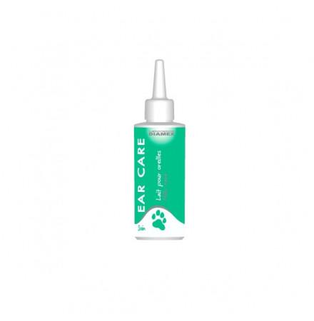 Diamex Ear Care 100ml - Lait Oreilles. Soin des oreilles pour chiens. Adoucissant et hydratant. Nettoyage du pavillon.