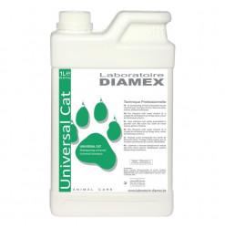 Diamex Shampooing Universal Cat 1l. Shampooing pour chat. A l'huile d'amandes douces. Volume, Brillance.