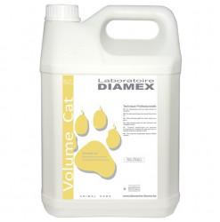 Diamex Shampooing Volum Cat 5l. shampooing pour chat à poil long. Redonne volume et brillance