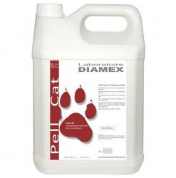 Diamex Shampooing Pell Cat 5l. Shampooing pour chat. Antipelliculaire. Au Goudron de Norvège.