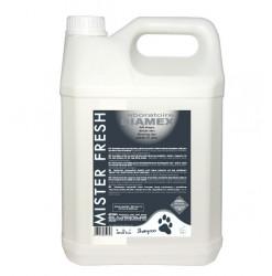 Diamex Shampooing Mister Fresh 5l. Shampooing pour chien. Parfum MARINE persistant et intense.