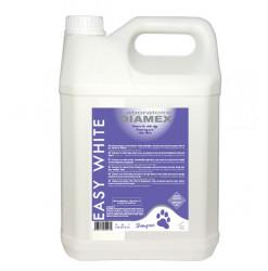 Diamex Shampooing Easy White 5l. Shampooing pour chien à poils blancs.