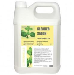Diamex Cleaner Salon Citronnelle 5l. Produit d'entretien. Permet de rafraichir et de désodoriser vos locaux